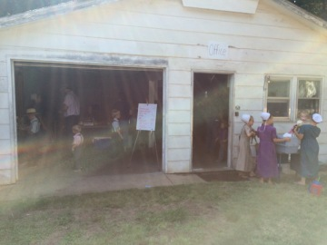 Mennonite Fowl Sale Business Office